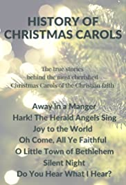 history of christmas carols poster