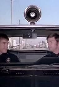 Mark Harmon and Kent McCord in Adam-12 (1968)