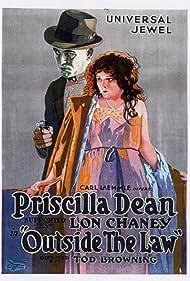 Lon Chaney and Priscilla Dean in Outside the Law (1920)