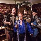 Jason Flowers, Ashly Covington, Gabriel Scalone, Bryan Forrest, and Hayes Beyersdorfer in The Rock Monster of Lingendar (2017)