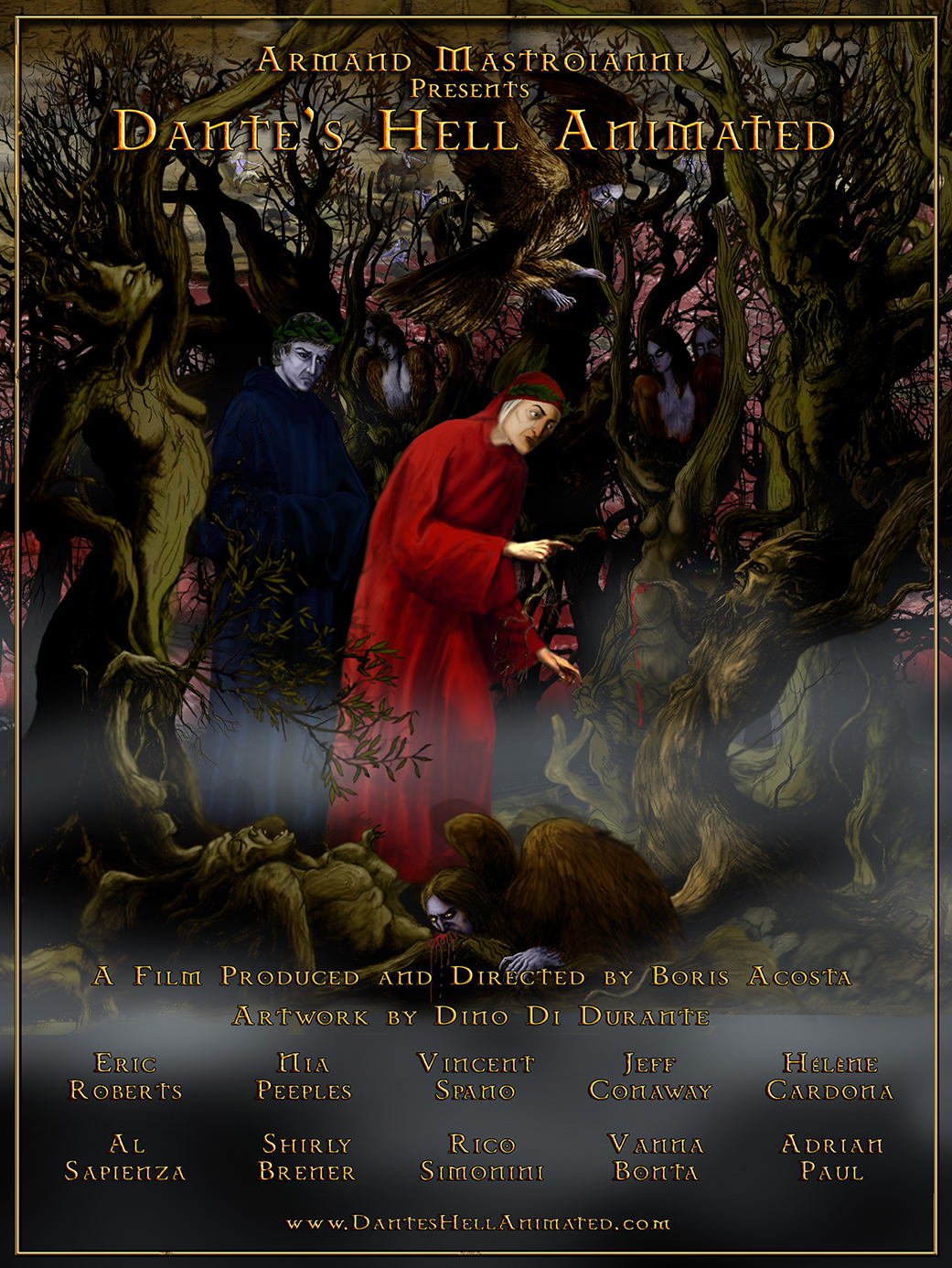 دانلود زیرنویس فارسی فیلم Dante's Hell Animated