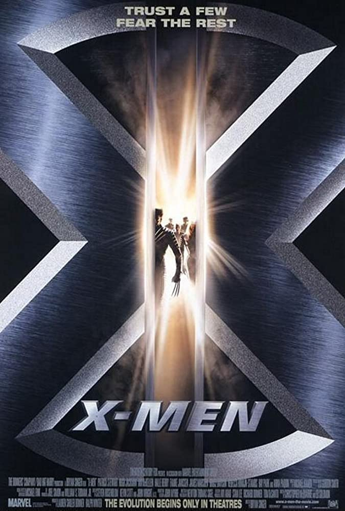 Poster film X-Men (2000)