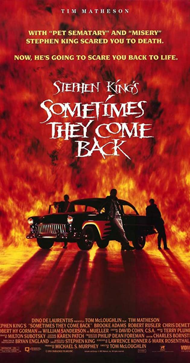 Sometimes They Come Back (TV Movie 1991) IMDb