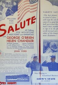 Helen Chandler, William Janney, and George O'Brien in Salute (1929)