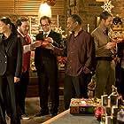 Colin Ferguson, Chris Gauthier, Joe Morton, Salli Richardson-Whitfield, Neil Grayston, Erica Cerra, Jordan Danger, and Niall Matter in Eureka (2006)