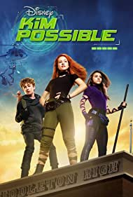Sean Giambrone, Ciara Riley Wilson, and Sadie Stanley in Kim Possible (2019)