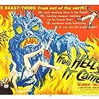 Tod Andrews, Tina Carver, John McNamara, and Gregg Palmer in From Hell It Came (1957)