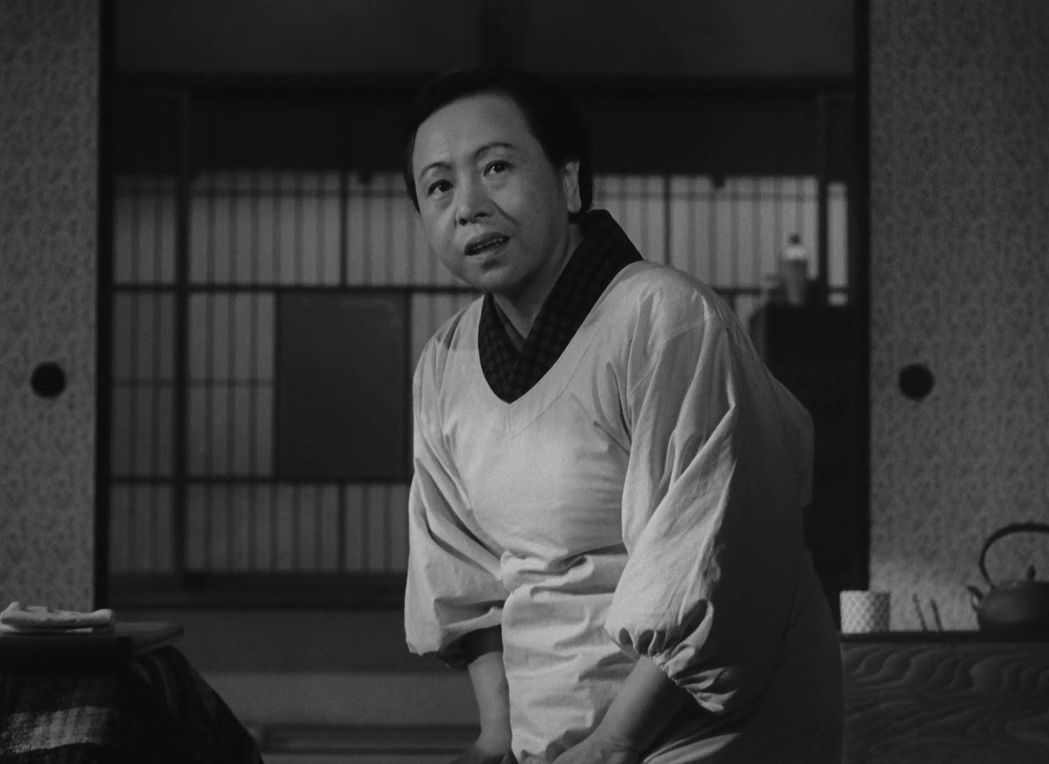 Teruko Nagaoka in Tôkyô boshoku (1957)