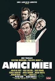 Amici miei(1975) Poster - Movie Forum, Cast, Reviews
