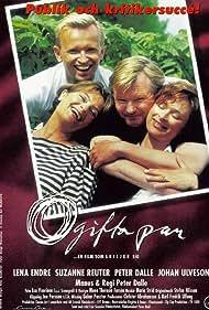 Peter Dalle, Lena Endre, Suzanne Reuter, and Johan Ulveson in Ogifta par ...en film som skiljer sig (1997)
