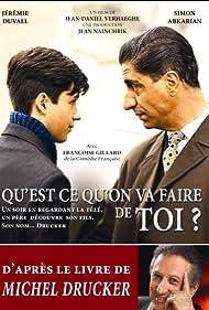 Simon Abkarian, Michel Drucker, and Jérémie Duvall in Qu'est-ce qu'on va faire de toi? (2012)