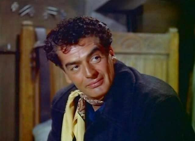 Victor Mature in Betrayed (1954)