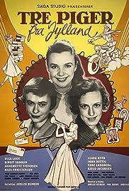 Tre piger fra Jylland Poster