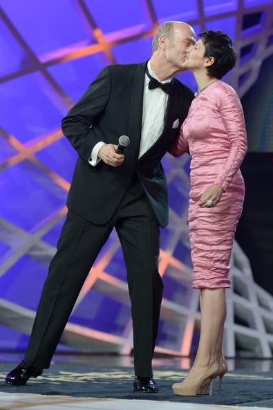Juliette Binoche and Erik Poppe at an event for Tusen ganger god natt (2013)