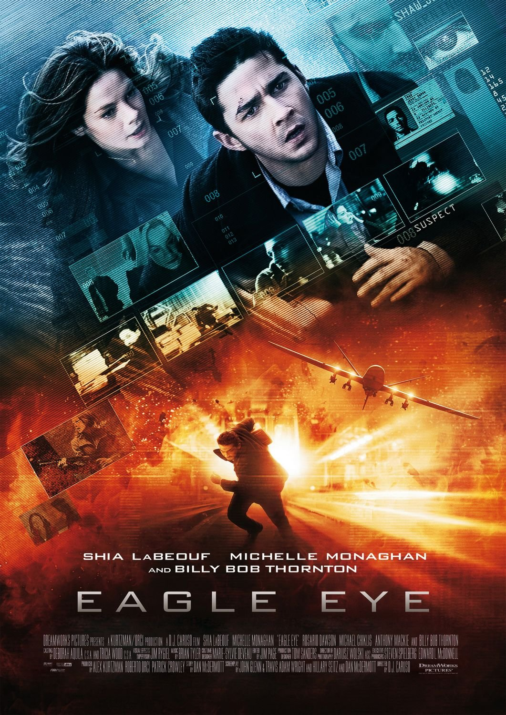 Eagle Eye 2008 Hindi Dual Audio 720p BluRay ESubs 860MB Download