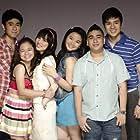 Angeli Gonzales, CJ Navato, Kiray Celis, Miles Ocampo, Igi Boy Flores, and Marco Gumabao in Luv U (2012)