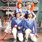 Gene Kelly, Frank Sinatra, Betty Garrett, and Esther Williams in Take Me Out to the Ball Game (1949)