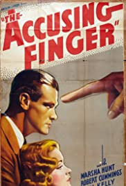 The Accusing Finger Poster