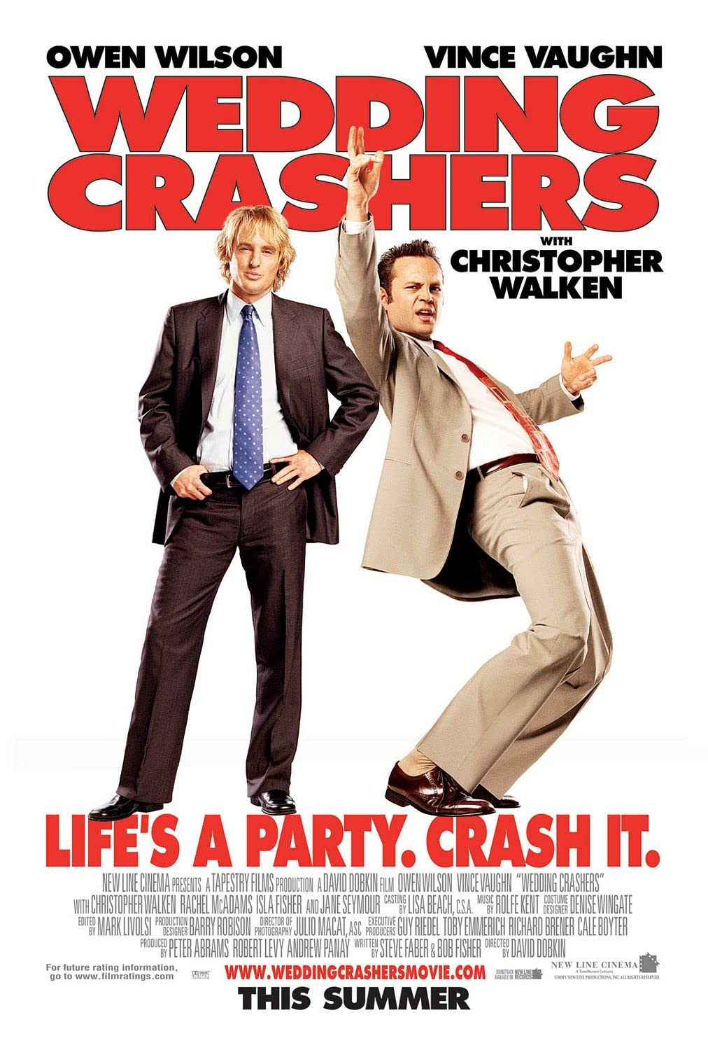 Wedding Crashers (2005) Hindi Dubbed