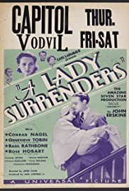 A Lady Surrenders Poster