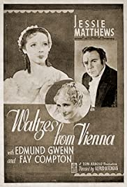 Strauss' Great Waltz Poster