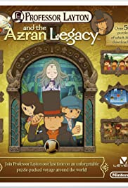 Professor Layton and the Azran Legacy Poster