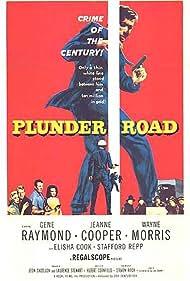 Jeanne Cooper, Nora Hayden, Wayne Morris, and Gene Raymond in Plunder Road (1957)