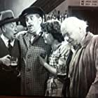 Stanley Holloway, Vida Hope, Aubrey Mather, and Charles Victor in Fast and Loose (1954)