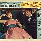 Debbie Reynolds and John Saxon in This Happy Feeling (1958)