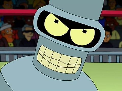 Futurama 2×13 – Bender furioso