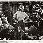 John Wayne, Tom Fadden, and Betty Field in The Shepherd of the Hills (1941)