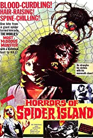Poster for Horrors of Spider Island