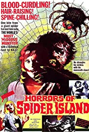 Horrors of Spider Island Poster