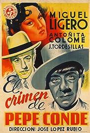 El crimen de Pepe Conde Poster