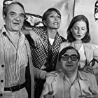 Stéphane Audran, Claude Chabrol, Isabelle Huppert, and Jean Carmet in Violette Nozière (1978)