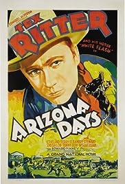 Arizona Days Poster