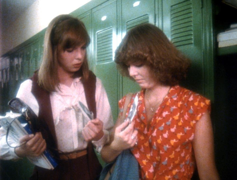 Mary Beth Rubens and Joy Thompson in Prom Night (1980)