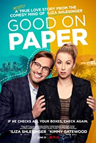 Ryan Hansen and Iliza Shlesinger in Good on Paper (2021)