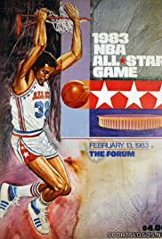 1983 NBA All-Star Game Poster