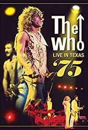 The Who Live in Texas '75 Poster