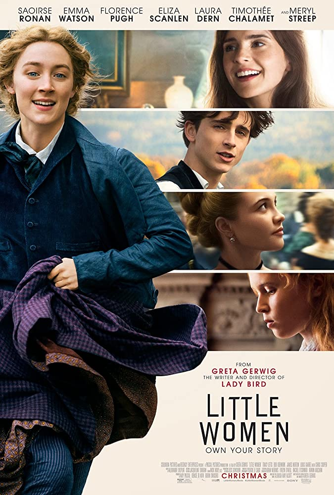 Promotional poster for LITTLE WOMEN.