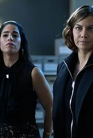 Ana Ortiz and Lauren Cohan in Whiskey Cavalier (2019)