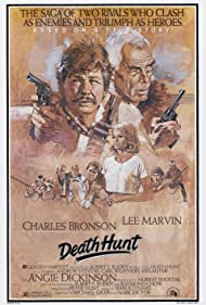 Charles Bronson, Angie Dickinson, and Lee Marvin in Death Hunt (1981)