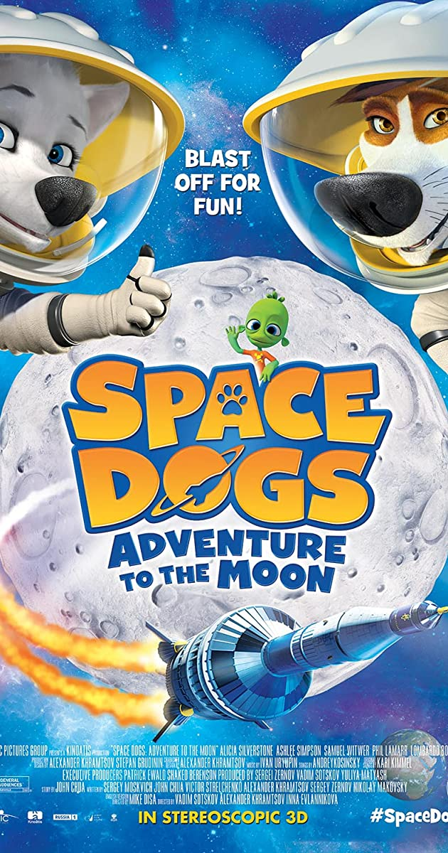 Subtitle of Space Dogs Adventure to the Moon