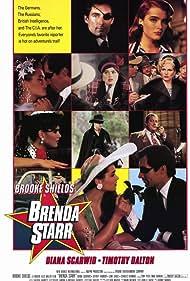 Brooke Shields, Timothy Dalton, and Diana Scarwid in Brenda Starr (1989)