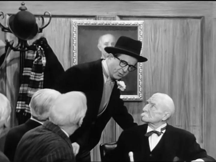 Phil Silvers and MacLean Savage in The Phil Silvers Show (1955)