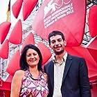Luca Ricciardi and Silvia Giralucci at an event for Sfiorando il muro (2012)