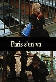 Paris s'en va Poster
