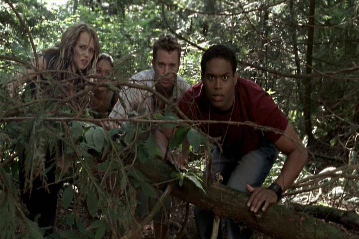 Daniella Alonso, Steve Braun, Erica Leerhsen, and Texas Battle in Wrong Turn 2: Dead End (2007)