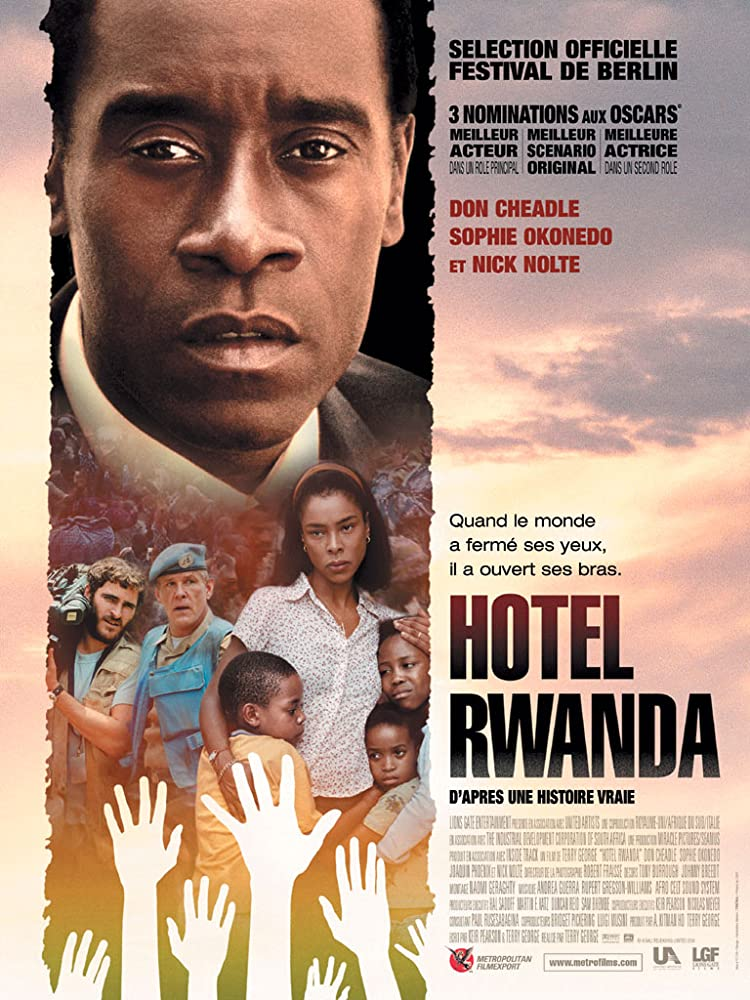 Hotel Rwanda 2004 Hindi Dual Audio 450MB BluRay ESubs Download